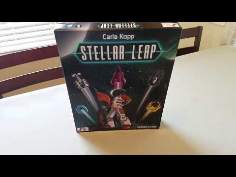 Stellar Leap - Board Game Spotlight