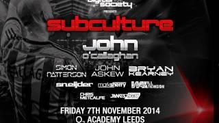 Bryan Kearney - Subculture, Digital Society (Leeds UK) – 07.11.2014