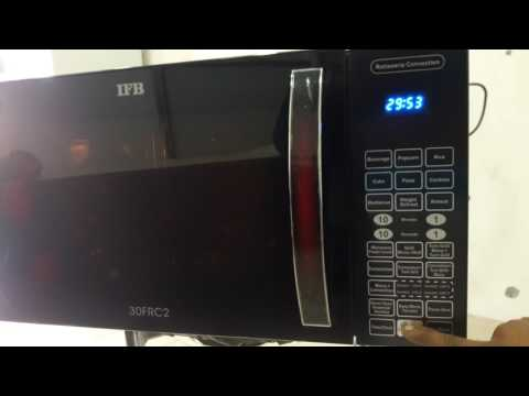 How to use ifb microwave 30frc1 full demo