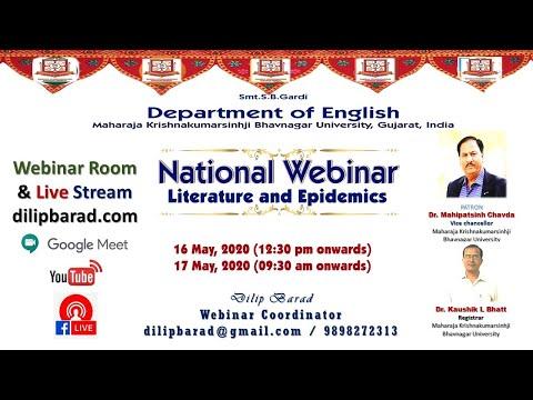 Paper Presentation Session 4, 5 & 6: Webinar - 'Literature & Epidemics'
