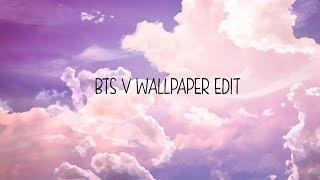 V BTS Wallpaper Edit