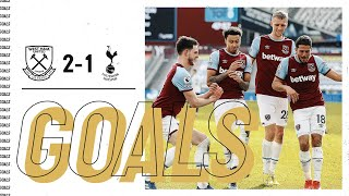 GOALS | WEST HAM UNITED 2-1 TOTTENHAM HOTSPUR