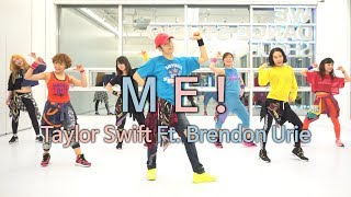[3.02 MB] ME! - Taylor Swift Ft. Brendon Urie / Dance Fitness Choreography / ZIN™ / Wook's Zumba® Story / Wook