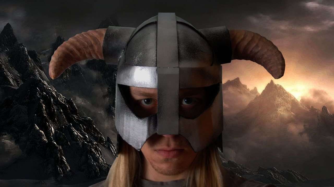 Skyrim iron helmet youtube pronofoot35fo Image collections