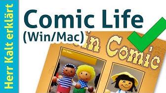 Einführung in Comic Life für Mac und Windows –Anleitung Comic Life