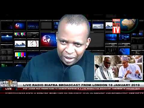 ANNOUNCEMENT: IPOB Leader Nnamdi Kanu To Address Biafra Live Broadcast Today Uche mefor