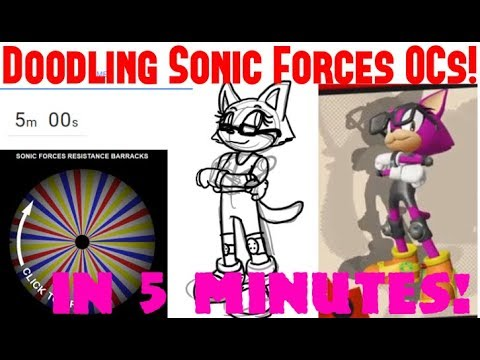 Fun Fridays w/ SonicSong182 #56: Speed Drawing Your SONIC FORCES OCs??