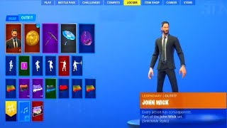 La nueva piel JOHN WICK, mochila GRATUITA en el Fortnite...