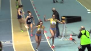 Atletica Bergamo 59 - Staffetta Indoor Promesse Femminile 4 x 1 giro