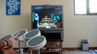 Rock Band Wii In Bloom Expert Drums