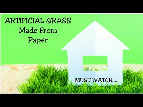 How To Make Artificial Grass At Home