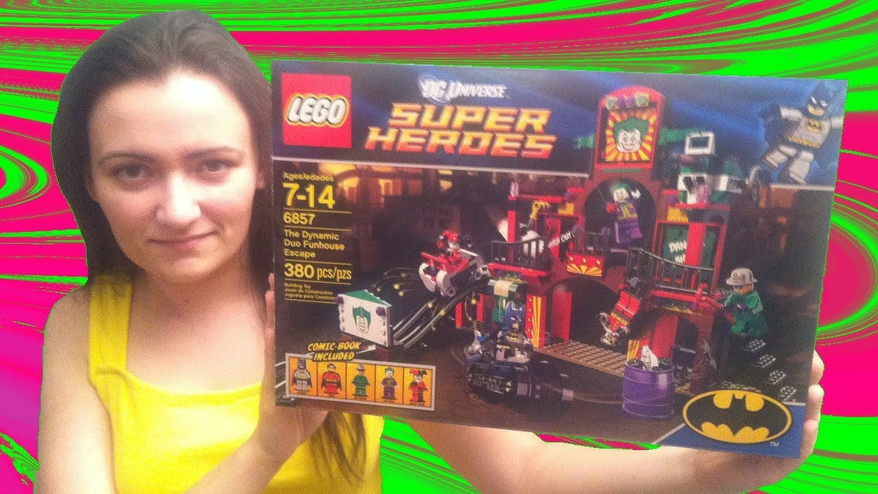 LEGO 6857 The Dynamic Duo Funhouse Escape LEGO Batman DC