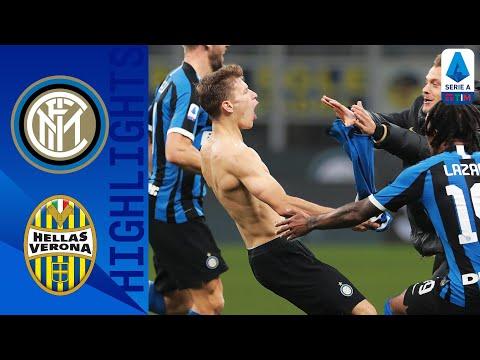 Inter 2-1 Hellas Verona | Stunning Late Barella Goal Seals Comeback Win | Serie A