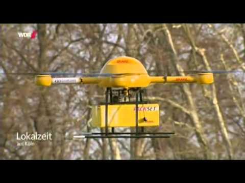 Lokalzeit aus Köln DHL testet Päckchen Drohne