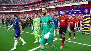 Manchester United vs Chelsea - Premier League 28 April 2019 Gameplay