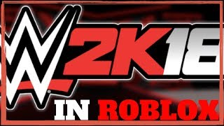 PLAYING WWE 2K18 IN ROBLOX!! (More Sport Games In Roblox) PART 2