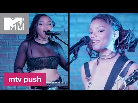 Chloe x Halle Perform 'Grown' (Live Performance) 🎙️| MTV Push