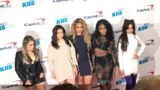 Fifth Harmony SUPER AWKWARD Red Carpet Before Camilla Cabello Left