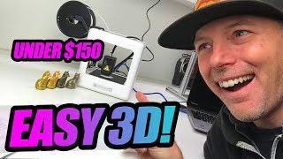 BEST BEGINNER 3D PRINTER?  - E3D Nano - Easy 3D Printer Review