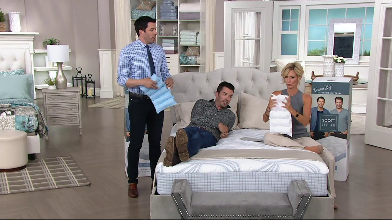 Scott Living 12 Hybrid Mattress By Restonic On Qvc Youtube,Comfort Room Cleaning Teenager Bedroom Cleaning Checklist