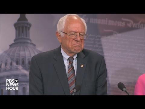 WATCH LIVE: Sanders, Democrats respond to Trump administration budget