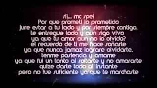 Nadie Te Amara Como Yo-Master JayR ft Mc Spei(LA MEJOR CANCION TRISTE DE RAP)