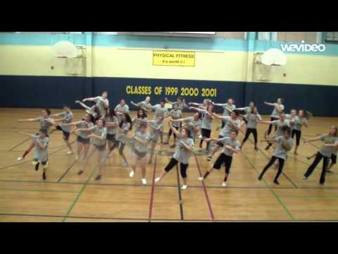EMILIE J ROSS MIDDLE SCHOOL PE DEPARTMENT WHIP & NAE-NAE ROUTINE