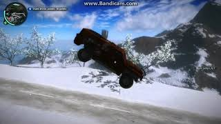 just cause 2 crazy driving game play