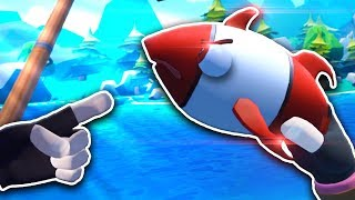 Я ЗЛОВИВ ДУЖЕ ДИВНУ РИБУ! - Crazy Fishing VR - HTC Vive ВІРТУАЛЬНА РЕАЛЬНІСТЬ