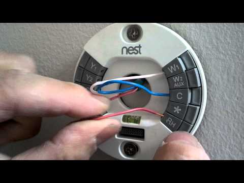 nest to radiant heating system . wiring the thermostat to thermostat Nest Radiant Heat Wiring Diagram on