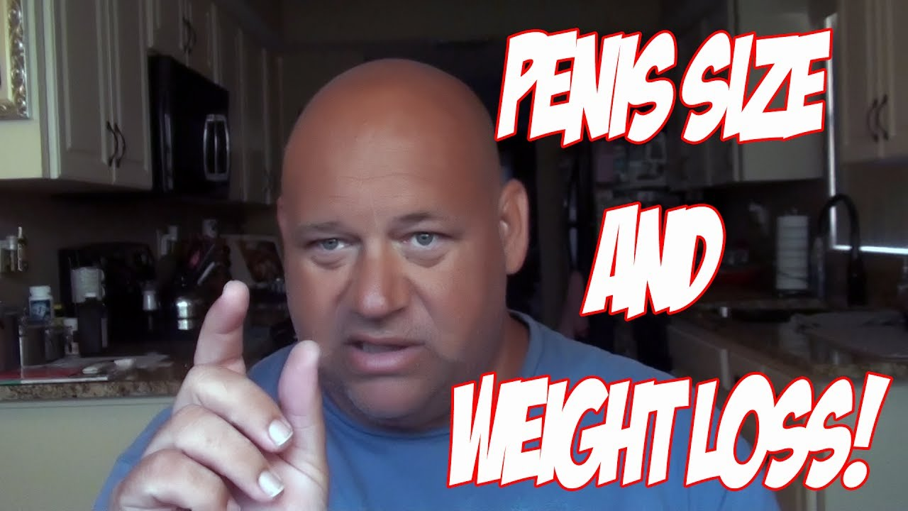 Loose weight around the penis