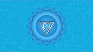 Throat Chakra Meditation - 384 Hz with Phi - 1.618033 Hz - Golden Ratio - Vishuddha Meditation