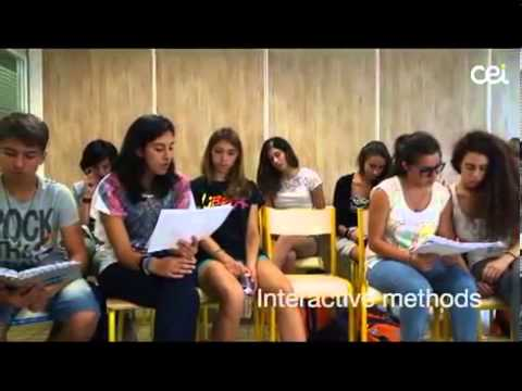 cei international summer camp in paris residence - youtube