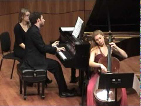 Debussy - Cello Sonata - 1 of 3