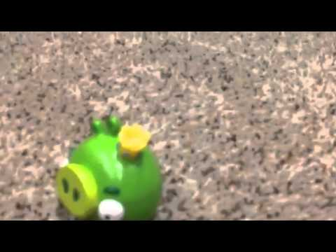 Angry birds toons bearded ambition toy video