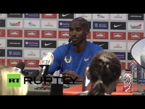 UK: Mo Farah expresses sympathy for banned Russian athletes