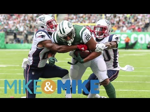Mike & Mike argue controversial call that cost Jets touchdown against Patriots | Mike & Mike | ESPN