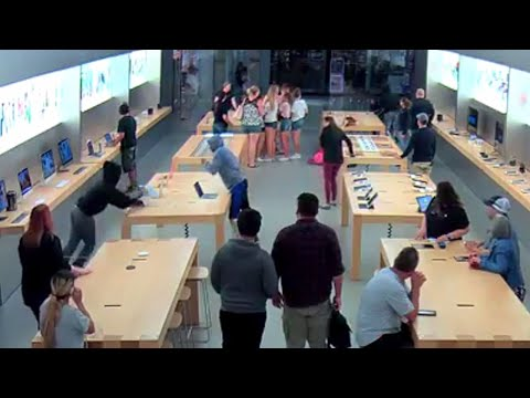 Video released of Apple Store robbery at Fashion Fair Mall