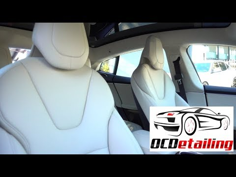 Tesla Model S - Vegan Seats - OCDetailing®