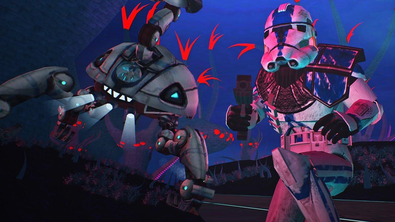Star Wars Battlefront 2 Mods Umbara Forest Clone Wars