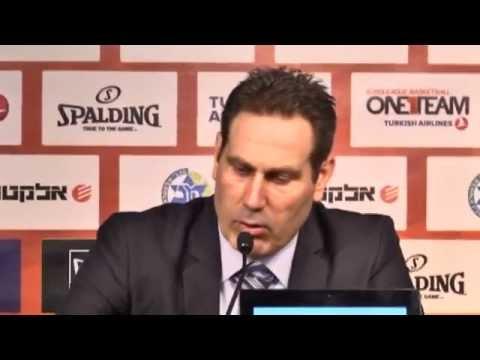 Post-Game: Maccabi Electra Tel Aviv - Cedevita Zagreb