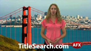 Property title records in Sonoma County California | AFX