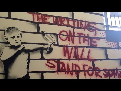 Urban artist Visual Waste brings street art to streets of Belfast