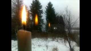 Посмотри как горит свеча