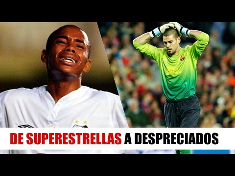 10 Reconocidos Futbolistas que hoy NO LOS QUIERE NADIE