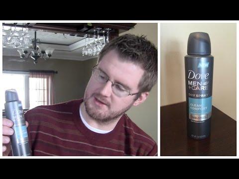 Dove MenCare Dry Spray Antiperspirant Review