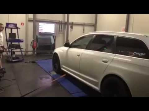 Audi RS6 Gogi on dyno 1035 hp 1222 nm madness motorsport