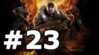 Gears Of War Walkthrough Part 23 - No Commentary Playthrough (Xbox 360)