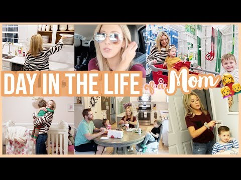 DAY IN THE LIFE OF A STAY AT HOME MOM | VLOGTOBER 1 WHATS UP WEDNESDAY Brianna K