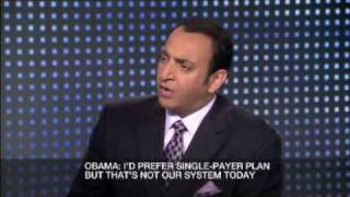 Riz Khan - The battle for US healthcare - 9 Sept 09 - Part 2